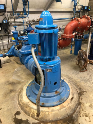 Pacific Pump Company Industrial Pump System